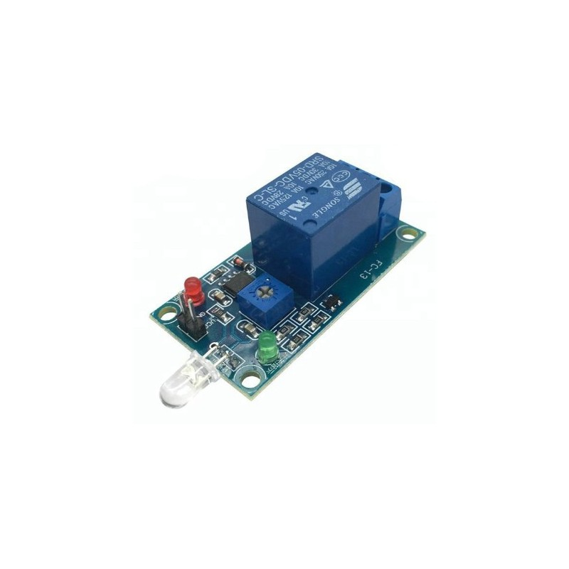 Photosensitive diode relay module