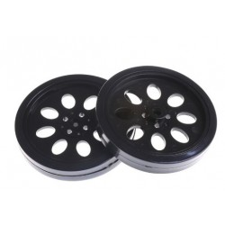 70mm Smart Car Robot Wheel Compatibel with MG995 945 Servo