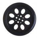 70mm Smart Car Robot Wheel Compatibel with MG995 945 Servo
