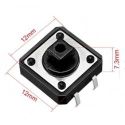 12x12x7.3mm Switch/drukschakelaar