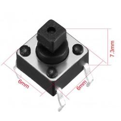 6x6x7.3mm Switch/drukschakelaar