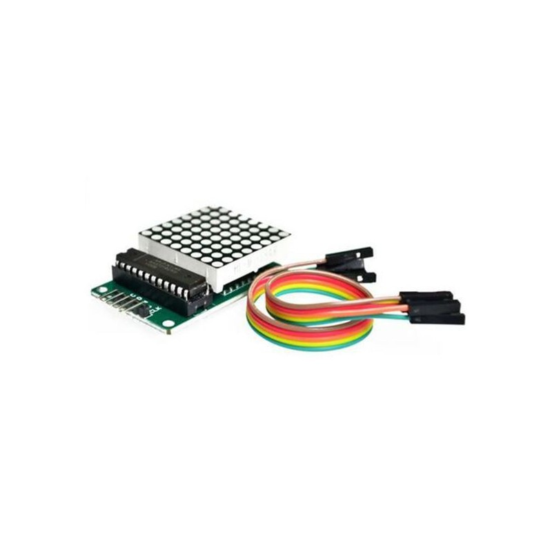 MAX7219 Dot LED Martix module met kabels