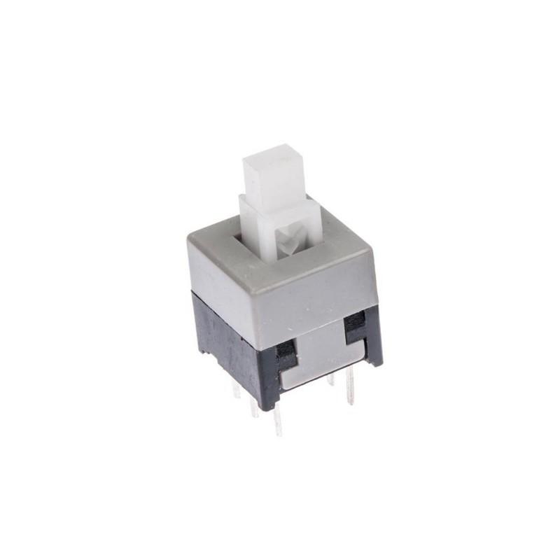 8.5x8.5 mm Self-lock drukknop schakelaar