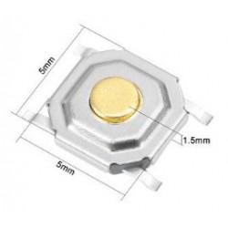 4x4x1.5mm SMD Switch/drukschakelaar