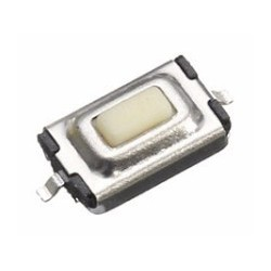 3X6X2.5mm SMD Switch/drukknopschakelaar