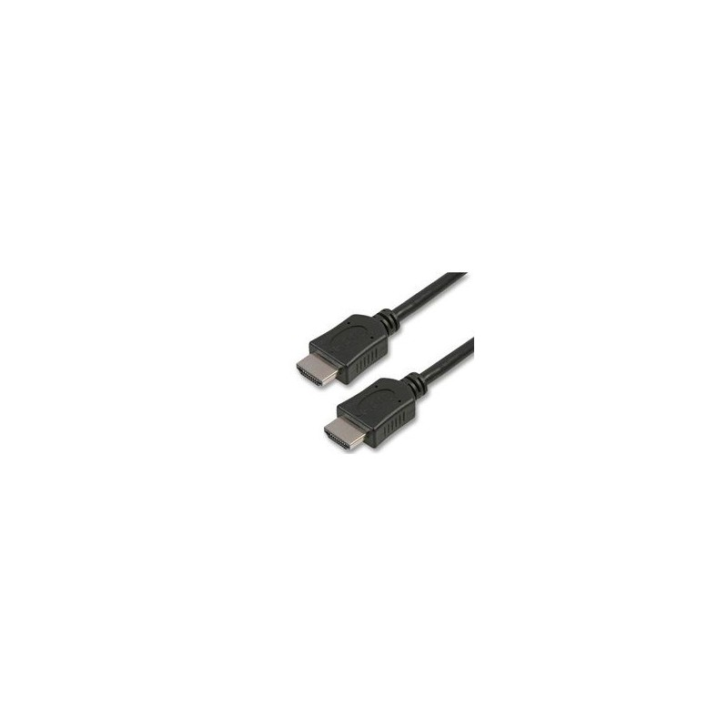 Audio/videokabel Montage, HDMI-stekker, 2 m, zwart