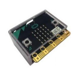 Micro: bit zwarte, doorzichtige dev board enclosure