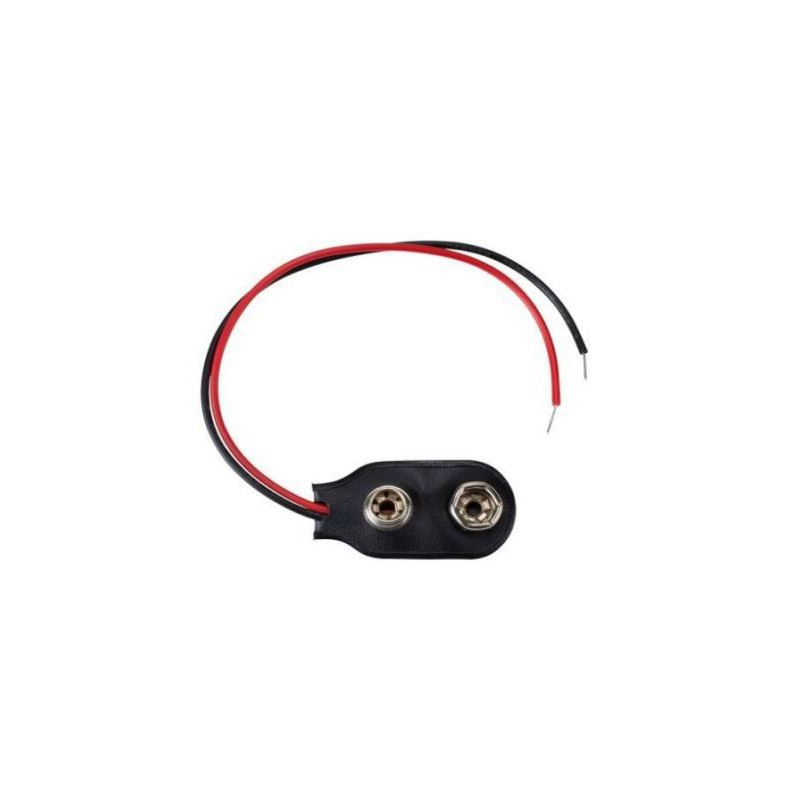 9V Blok Batterij Connector 10cm