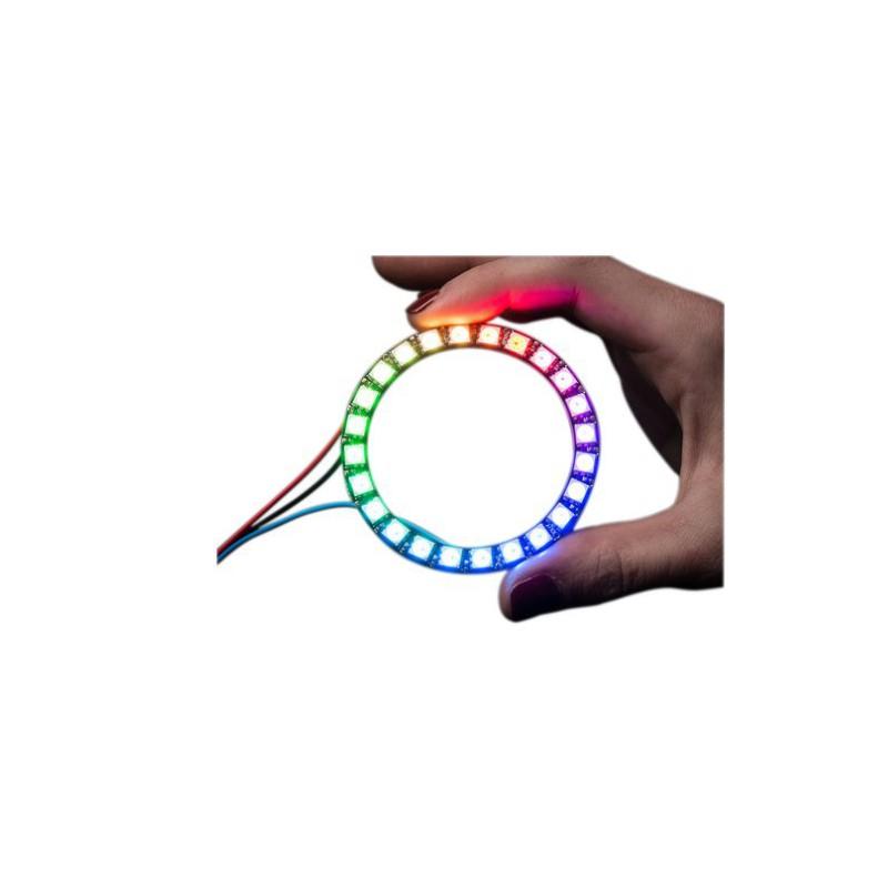 Neopixel LED Ring 24 WS2812 5050 RGB