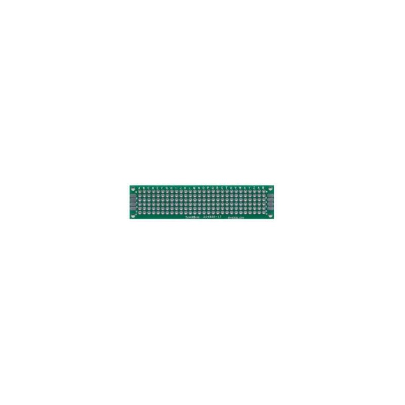 PCB dubbelzijdig 20x80 mm