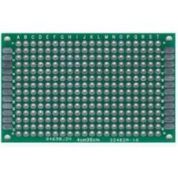 PCB dubbelzijdig 40x60mm