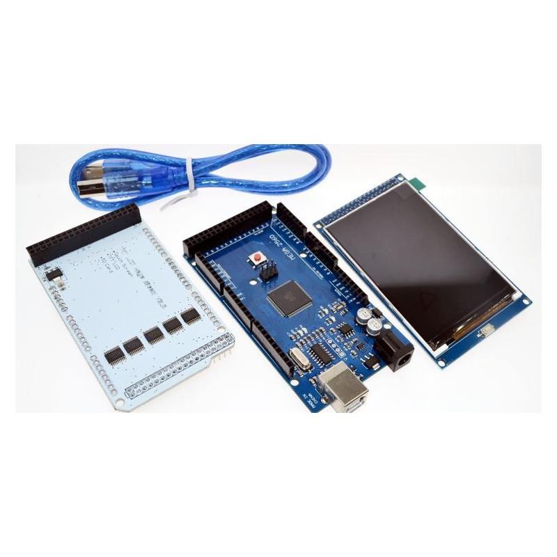 Arduino Mega2560 + 3.2inch TFT LCD Kit