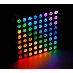Colorduino RGB LED dot-matrix driver Incl. RGB Matrix 8x8