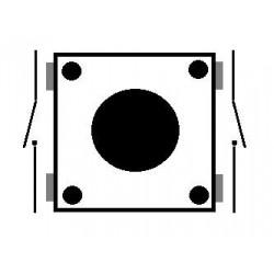 Push Button 12x12x7.3