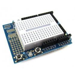 Prototype Shield Arduino Uno met 170 pts breadboard