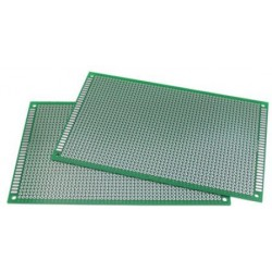 PCB dubbelzijdig 90x150mm
