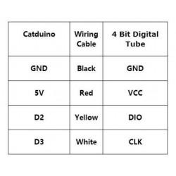 4 Bits TM1637 LED Display Module & Klok