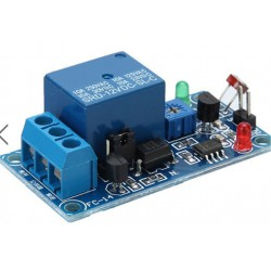 Photosensitive resistance sensor relay