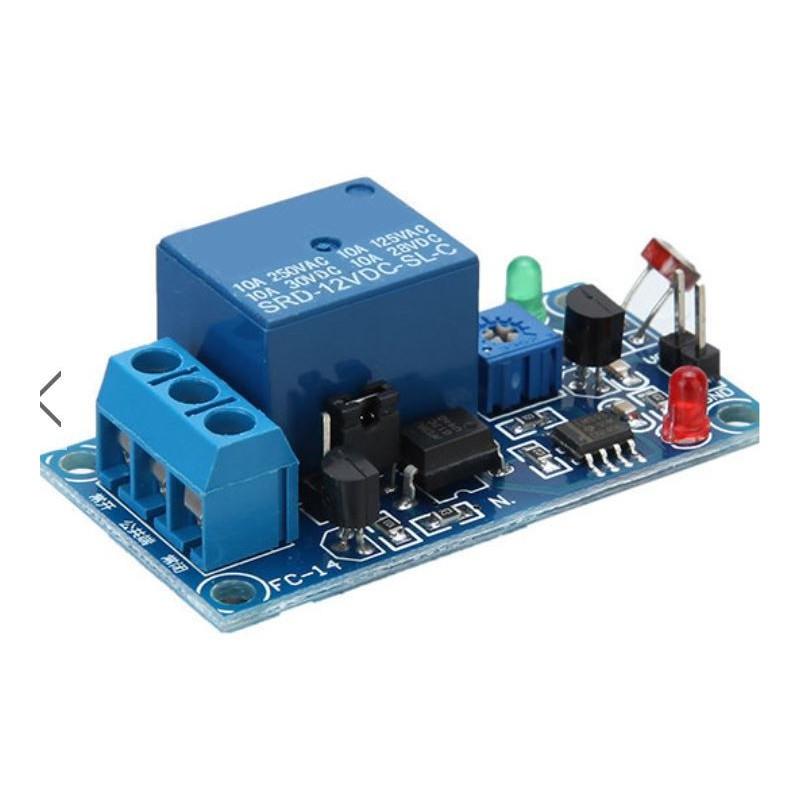Photosensitive resistance sensor relay