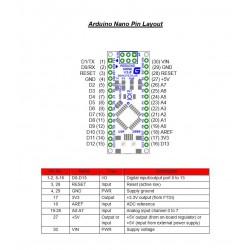 Arduino Nano V3.0 FT232 met USB kabel