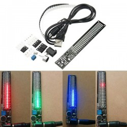 SMD LED geluidspectrum Blauw