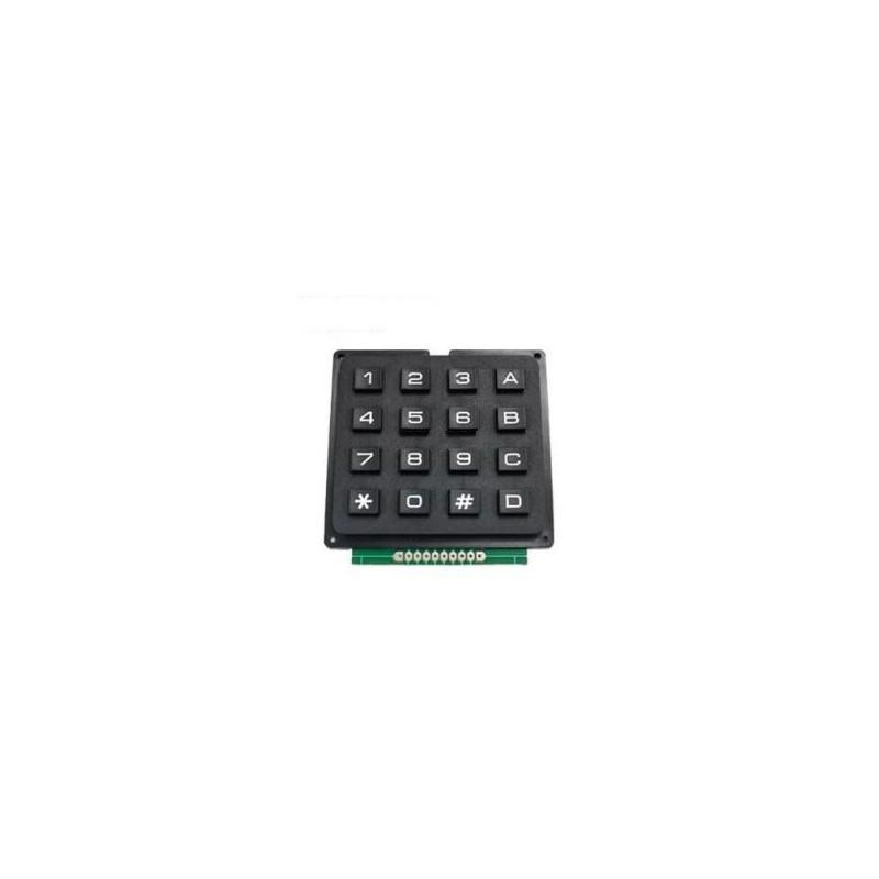 Zwart keypad 4*4