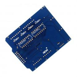 DIY LED Cube 4x4x4 Blue (Shield)