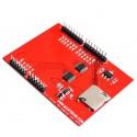 2.4 inch TFT Touchscreen Arduino UNO R3 (Red)