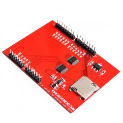 2.4 inch TFT Touchscreen Arduino UNO R3 (Red)