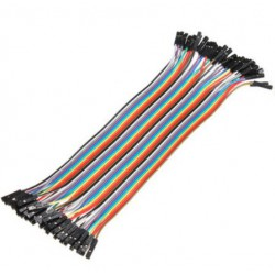 Female to Female 20cm BreadBoard Kabel 20 st