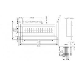 LCD1602 BlueBacklight