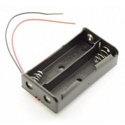2X AA batterijhouder Box, open