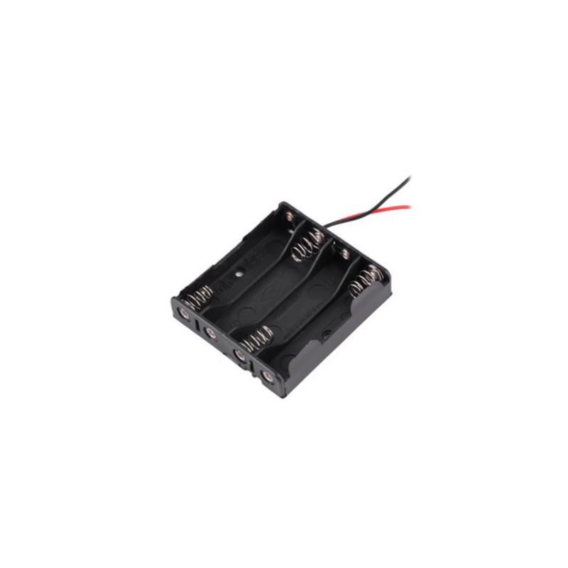 4X AAA batterijhouder Box, open