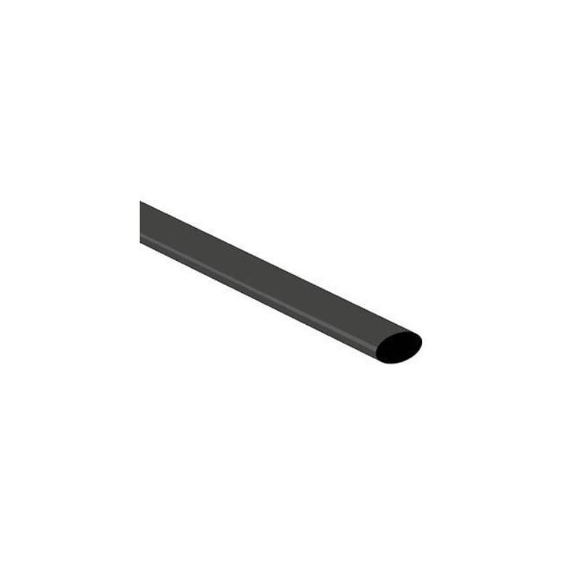 Krimpkous 4mm Zwart 1m