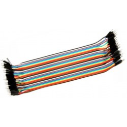 Male to Male 20cm BreadBoard jumper wire 20st