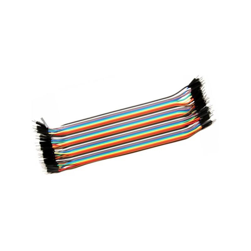 Male to Male 20cm BreadBoard jumper wire 20st