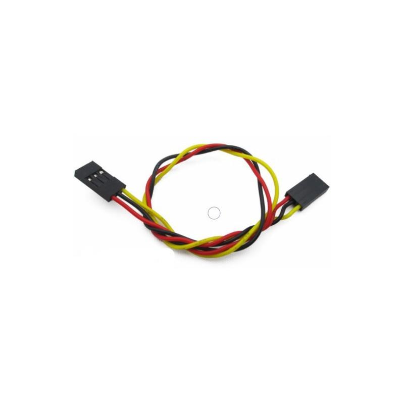 3 pins 2.54 twist Female to Female kabel