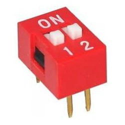 Dip Switch 2-pins