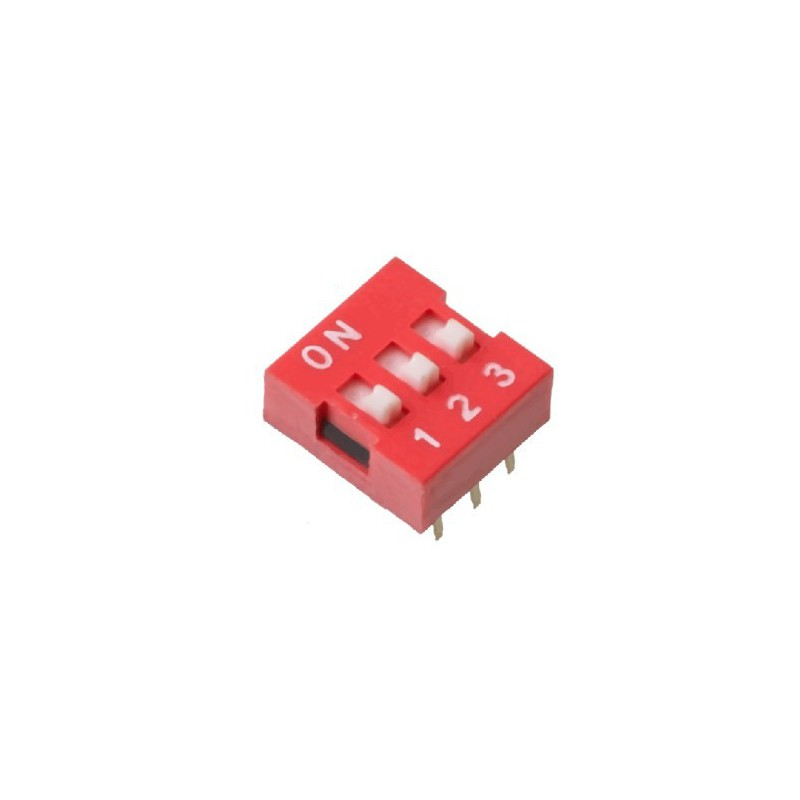 Dip Switch 3-pins