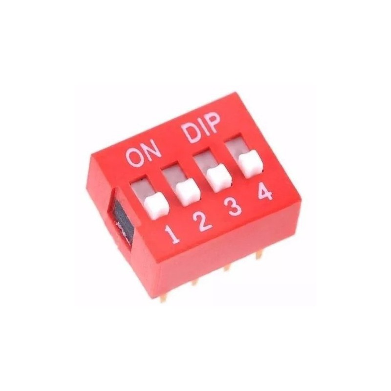 Dip Switch 4-pins