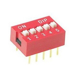 Dip Switch 5-pins