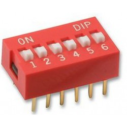 Dip Switch 6-pins