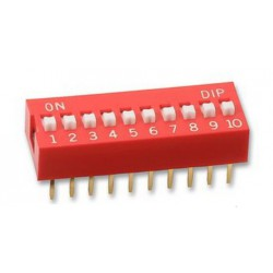 Dip Switch 10-pins