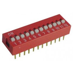 Dip Switch 12-pins