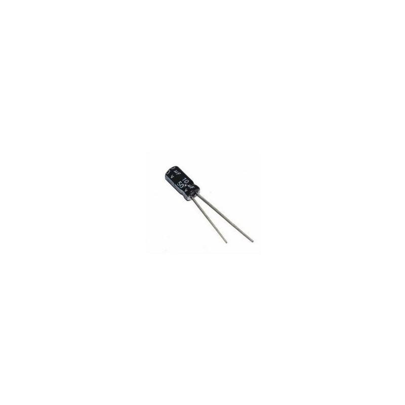 10uF 50V Elektrolytische Condensator 5x11mm