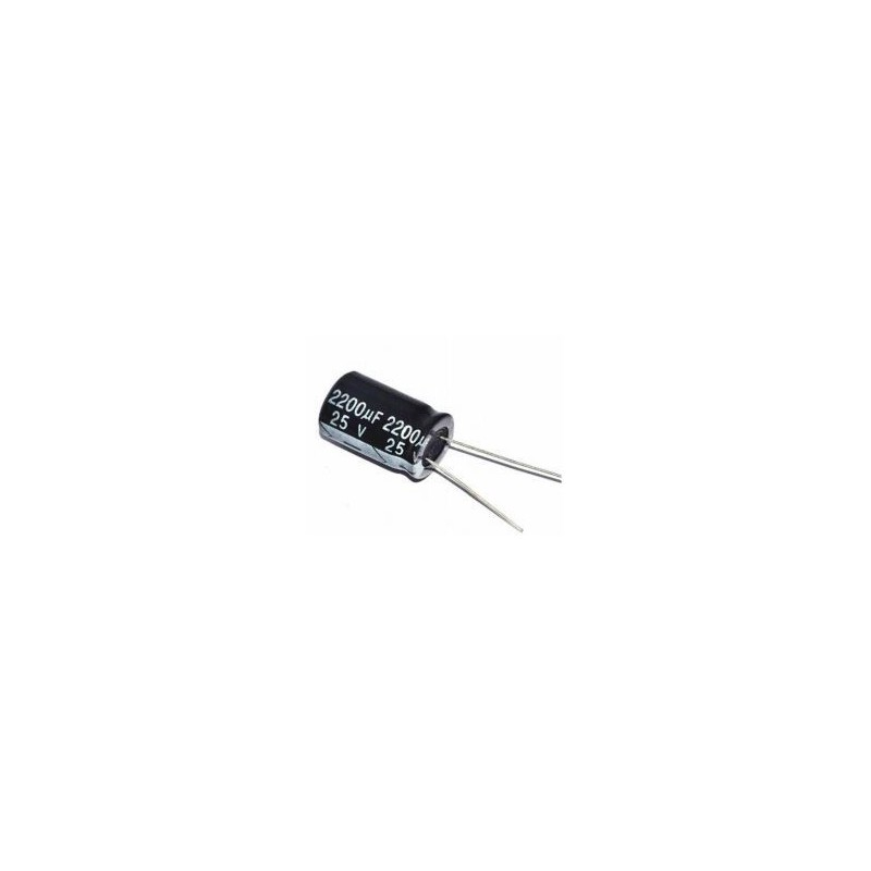 Elektrolytische Condensator 25V 2200uF
