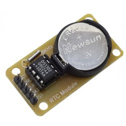 DS1302 RTC Real Time Clock Module met Batterij