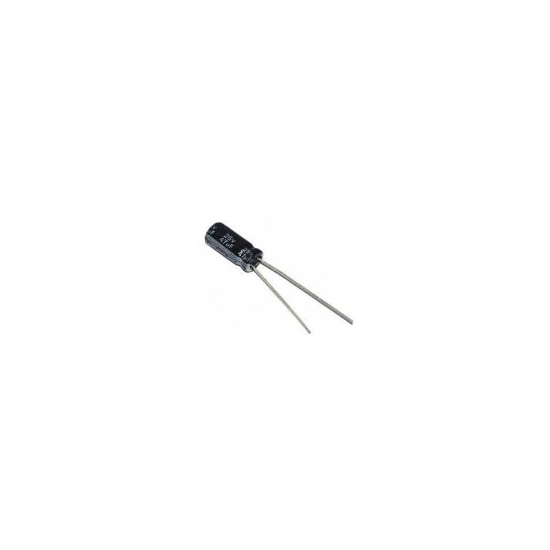 Elektrolytische Condensator 25V 47uF