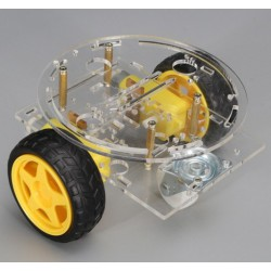 2WD Robot Double deck Car Chassis DIY kit