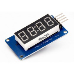 4 Bits TM1637 LED Display Module & Klok